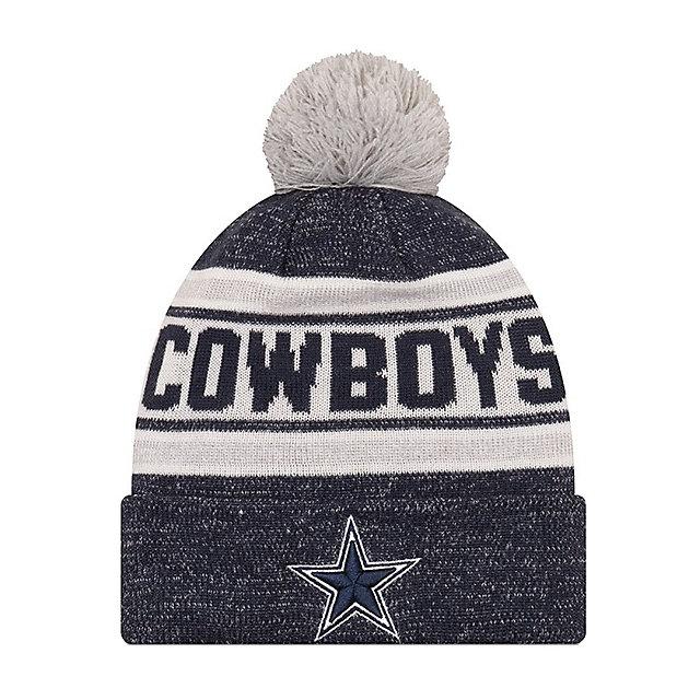 Dallas Cowboys New Era Jr Toasty Cover Knit Hat