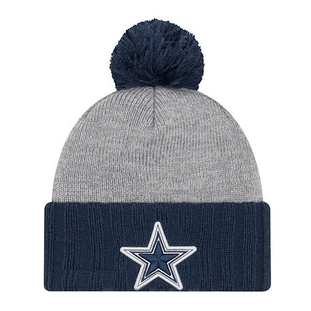 Dallas Cowboys New Era Jr Flected Frost Knit Hat