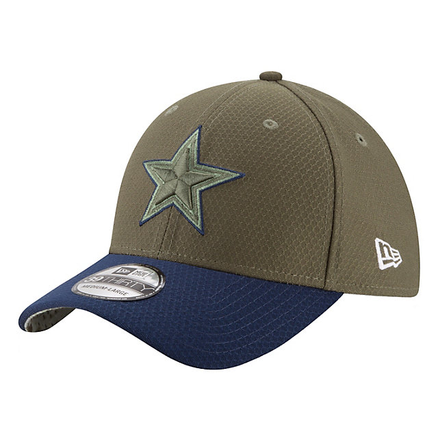 Dallas Cowboys New Era Salute to Service Jr On Field 39Thirty Cap