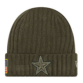 Dallas Cowboys New Era Salute to Service Youth On Field Knit Hat