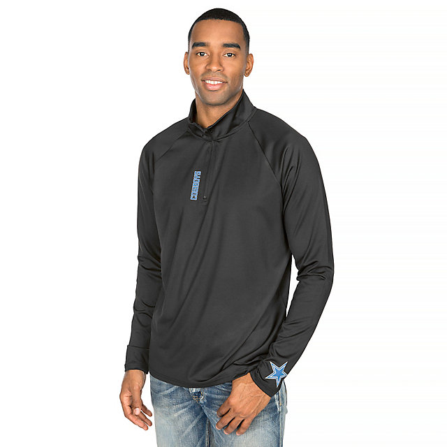 Dallas Cowboys Shock Gillon Quarter Zip Pullover