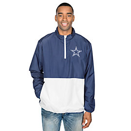 Dallas Cowboys Parker Quarter-Zip Jacket