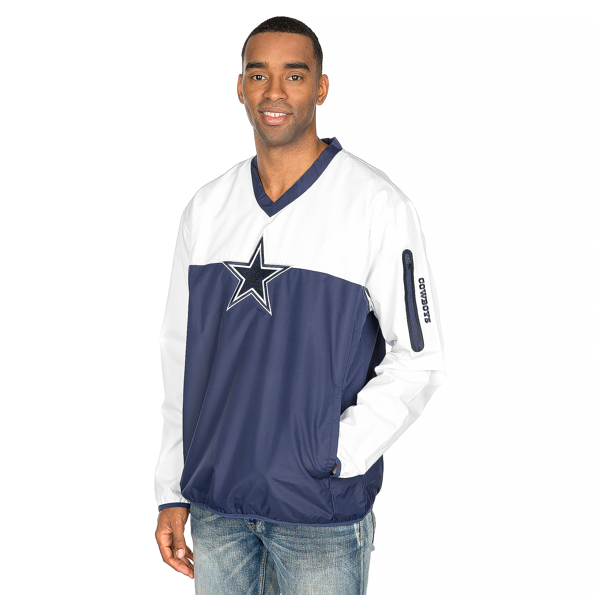 Dallas Cowboys Elm Pullover Jacket