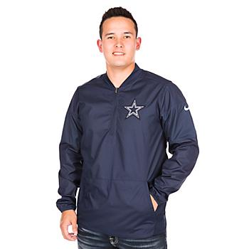 Dallas Cowboys Nike Lockdown Half-Zip Jacket