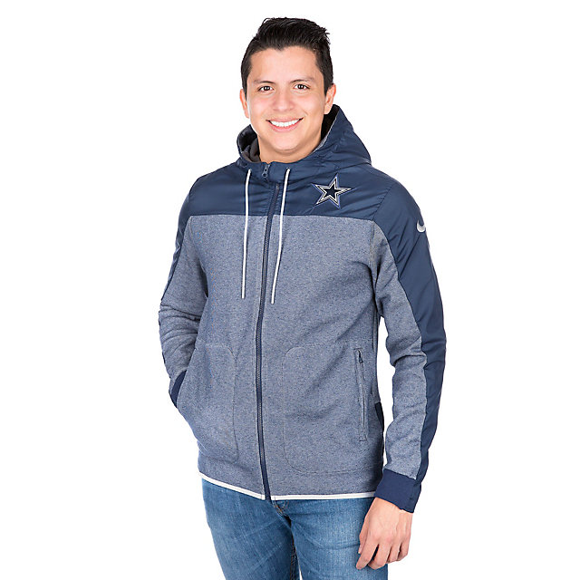 Dallas Cowboys Nike AV15 Winterized Full-Zip Jacket