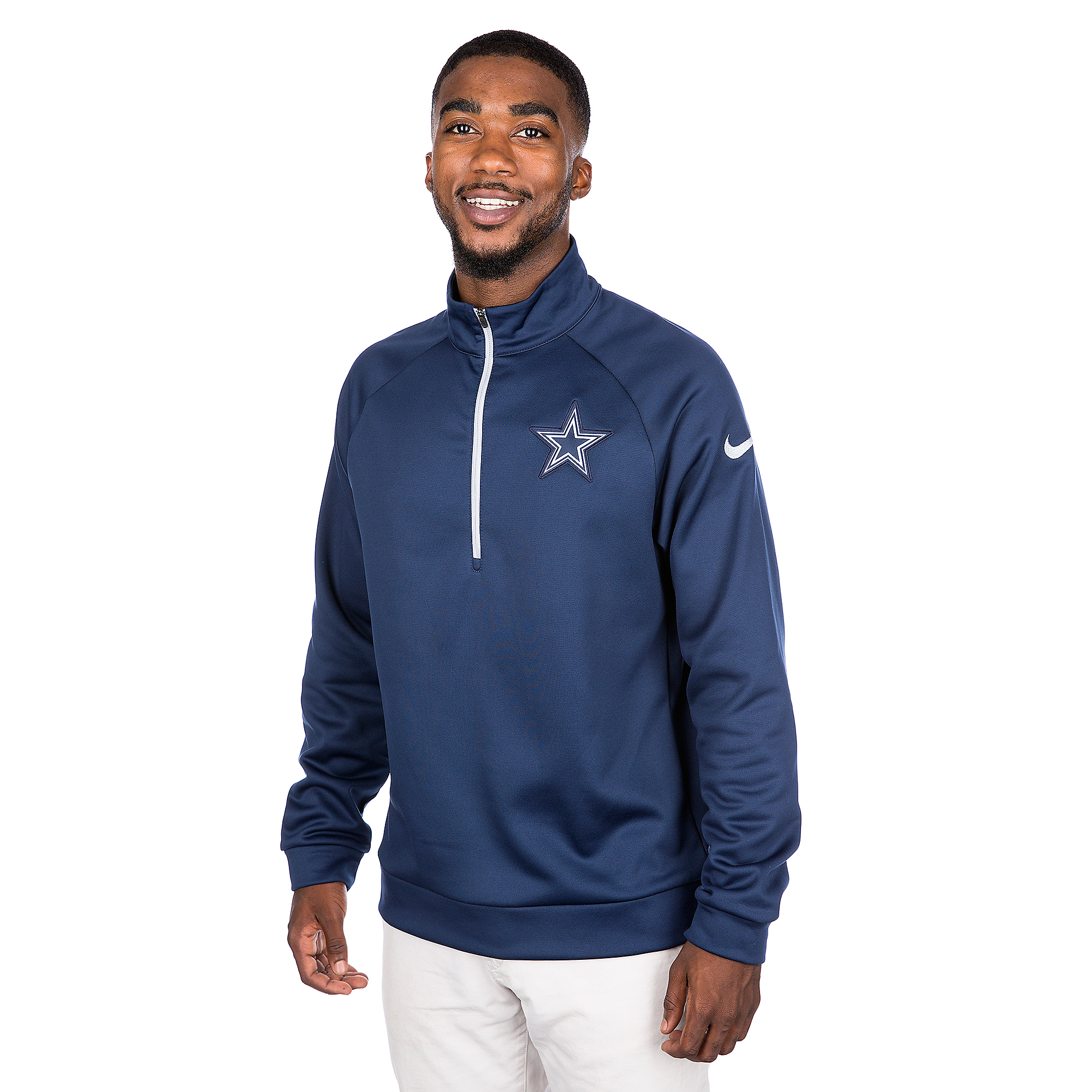 Dallas Cowboys Nike Circuit Quarter-Zip Top