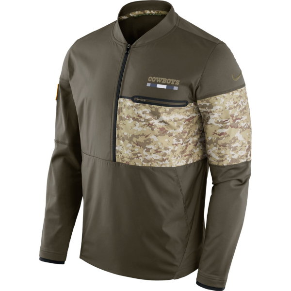Dallas Cowboys Nike Salute to Service Sideline Hybrid Jacket