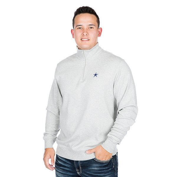 Dallas Cowboys Vineyard Vines Jersey Quarter-Zip Pullover