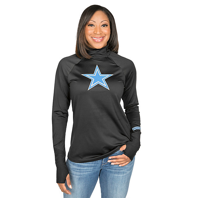 Dallas Cowboys Shock Payne Quarter-Zip Pullover