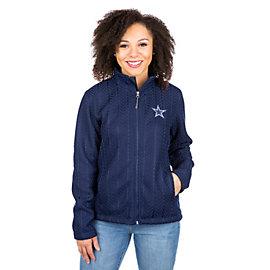 Dallas Cowboys Crossover Full-Zip Jacket