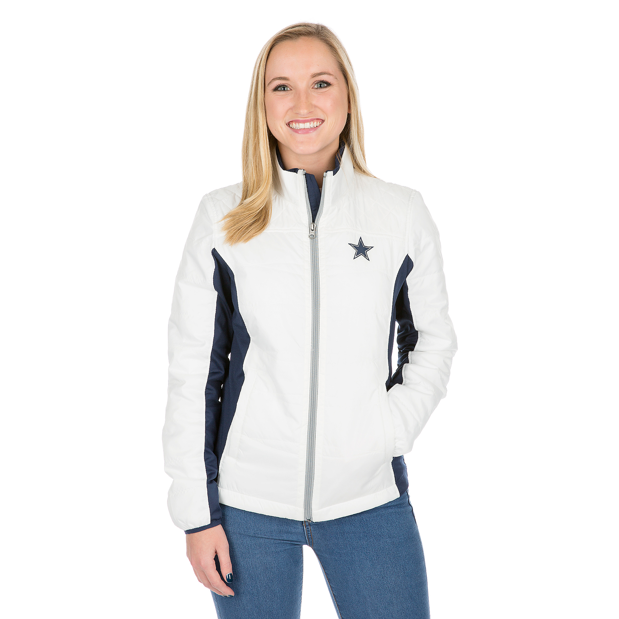 Dallas Cowboys Grand Slam Full-Zip Jacket