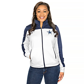 Dallas Cowboys Play Maker Track Jacket