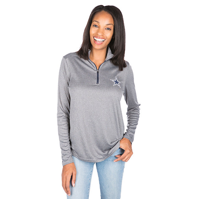 Dallas Cowboys Rockland Quarter-Zip Pullover