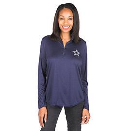 Dallas Cowboys Rockland Quarter-Zip Pullover