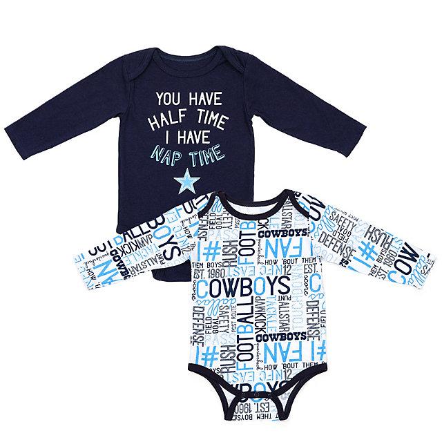 Dallas Cowboys Infant Gaston Long Sleeve Set