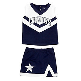 Dallas Cowboys Cheerleader Toddler Victory Cheer Set