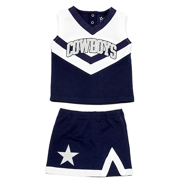 Dallas Cowboys Cheerleader Toddler Victory Cheer Set