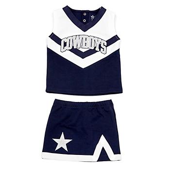Dallas Cowboys Cheerleader Infant Victory Cheer Set