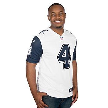 Dallas Cowboys Dak Prescott #4 Nike Legend Color Rush Jersey
