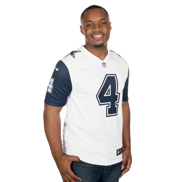 Dallas Cowboys Dak Prescott #4 Nike Legend Color Rush Jersey