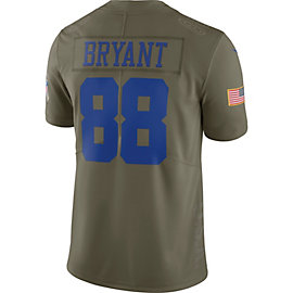 Dallas Cowboys Dez Bryant #88 Nike Limited Salute To Service Jersey
