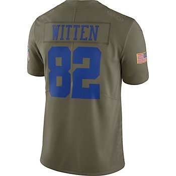 Dallas Cowboys Jason Witten #82 Nike Limited Salute To Service Jersey