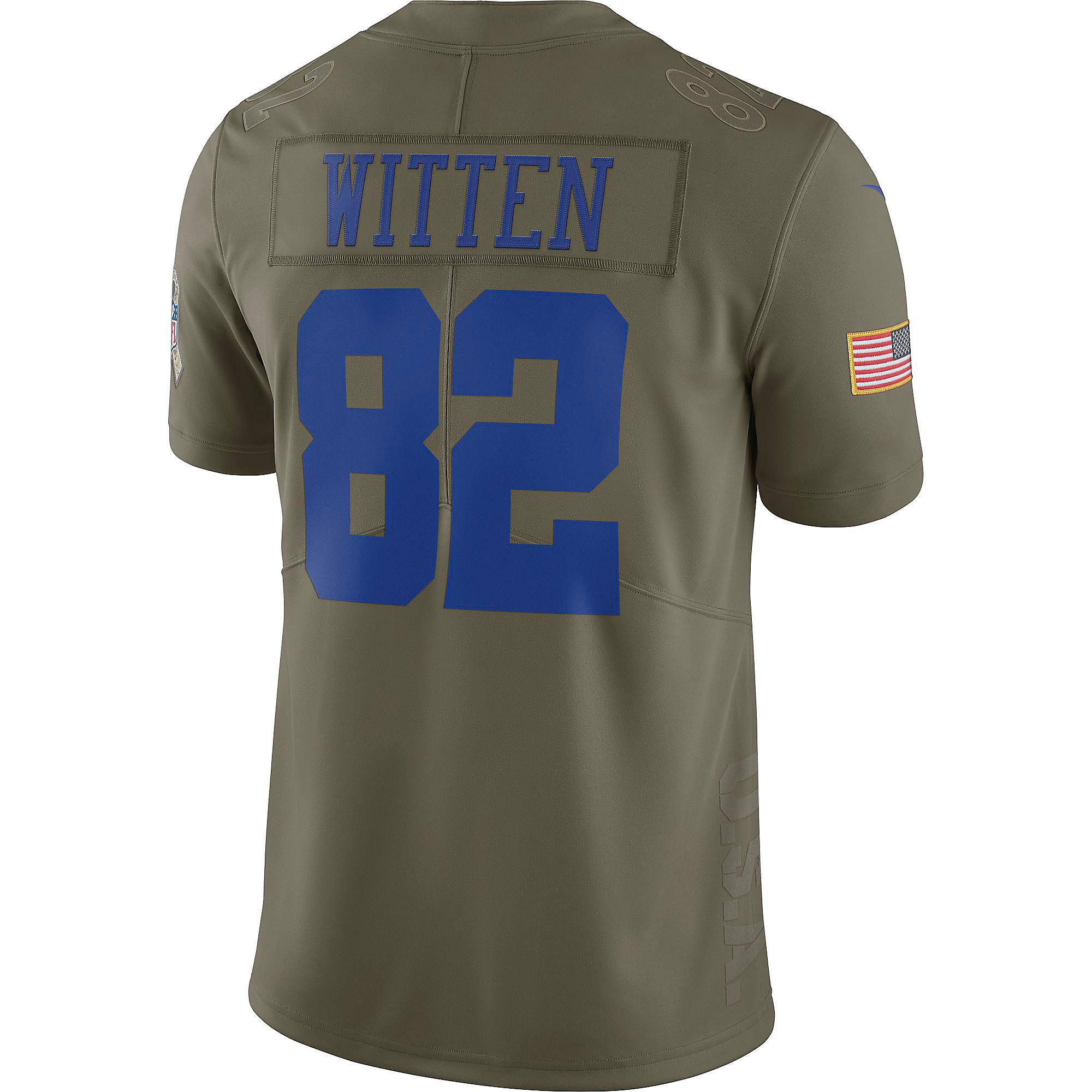 buy popular 596b1 bce0a Dallas Cowboys Jason Witten #82 Nike Limited Salute To Service Jersey |  Dallas Cowboys Pro Shop