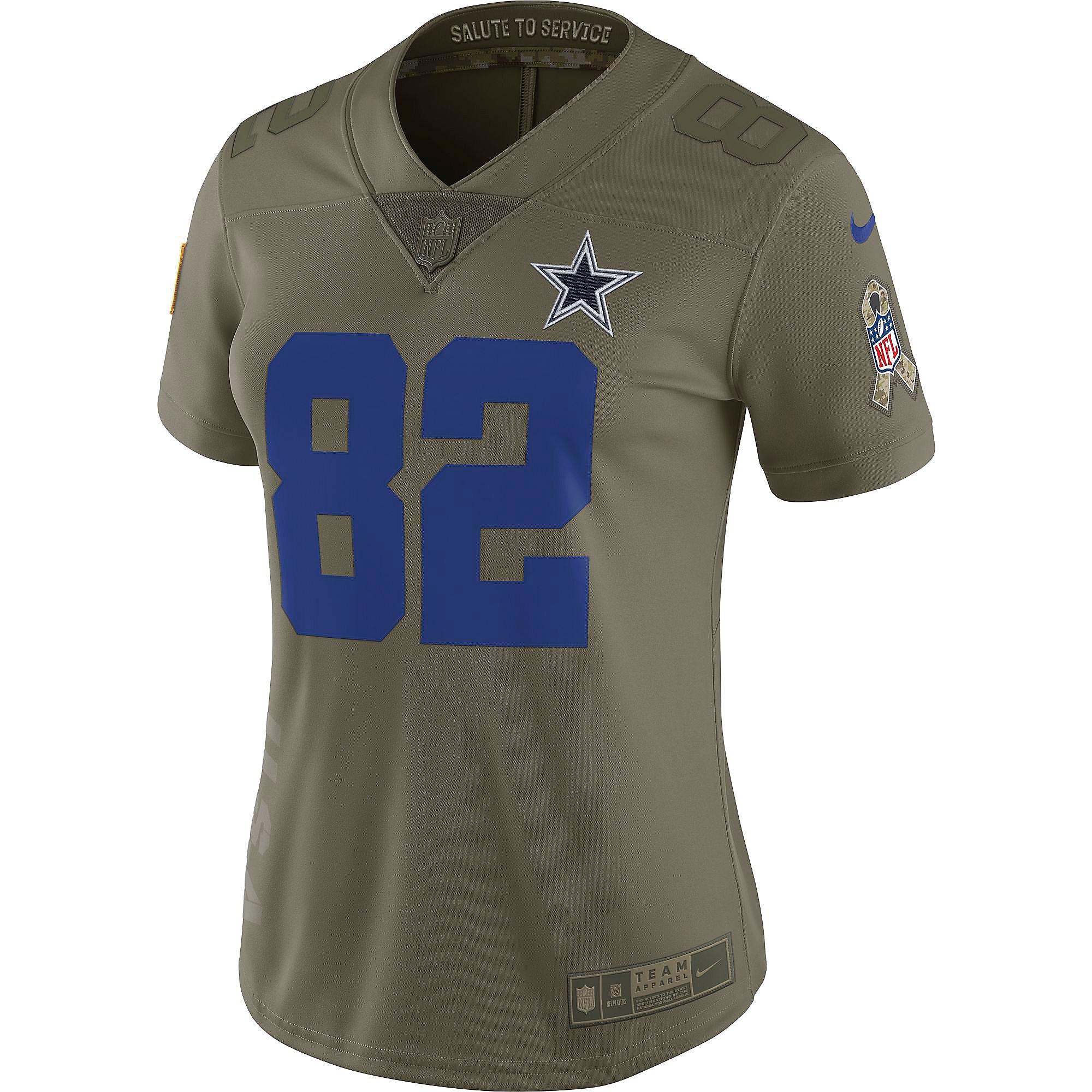 buy online 760c1 4333b Dallas Cowboys Womens Jason Witten #82 Nike Limited Salute To Service  Jersey | Dallas Cowboys Pro Shop