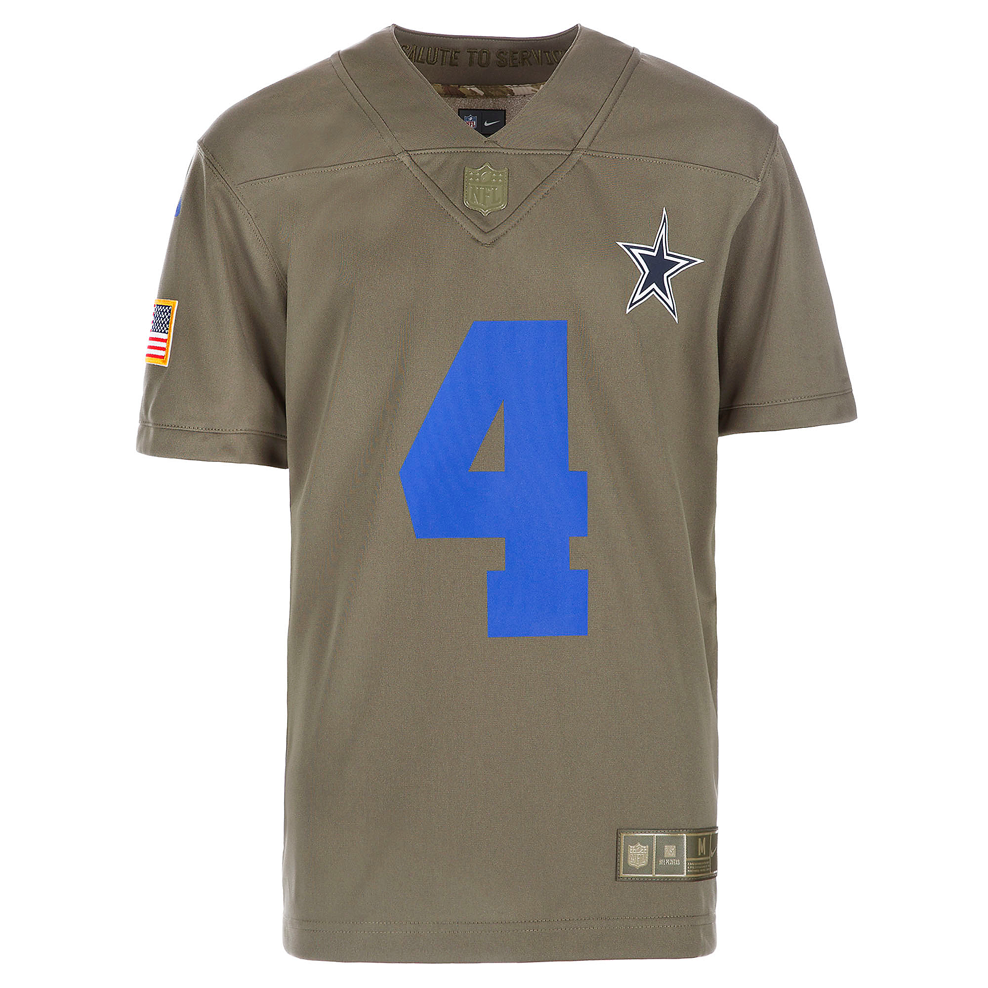 cheaper 7f49d fed86 Dallas Cowboys Youth Dak Prescott #4 Nike Limited Salute To Service Jersey  | Dallas Cowboys Pro Shop