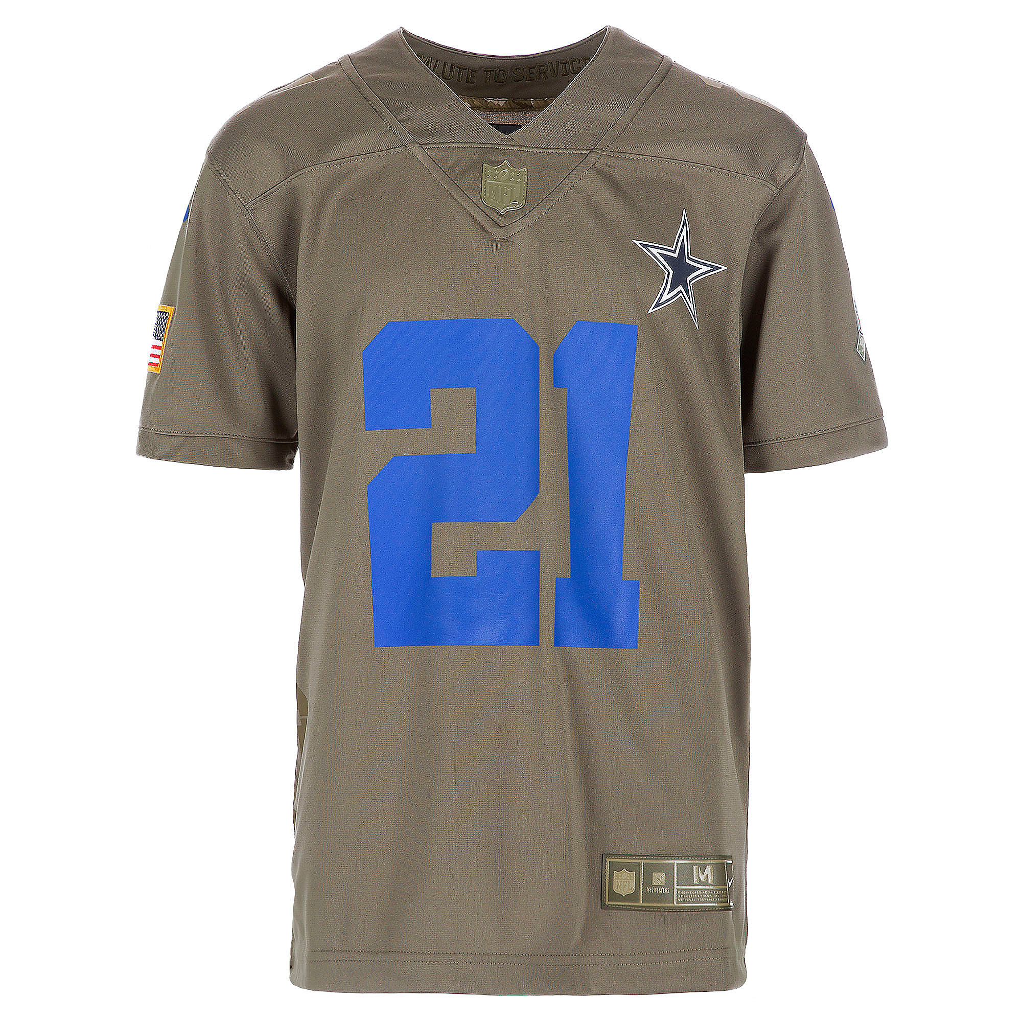 wholesale dealer 98573 ae0ef Dallas Cowboys Youth Ezekiel Elliott #21 Nike Limited Salute To Service  Jersey | Dallas Cowboys Pro Shop