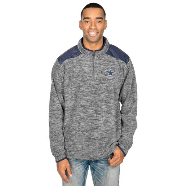 Dallas Cowboys Hensley Quarter Zip Pullover