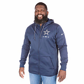 Dallas Cowboys Nike Therma Full-Zip Hoody