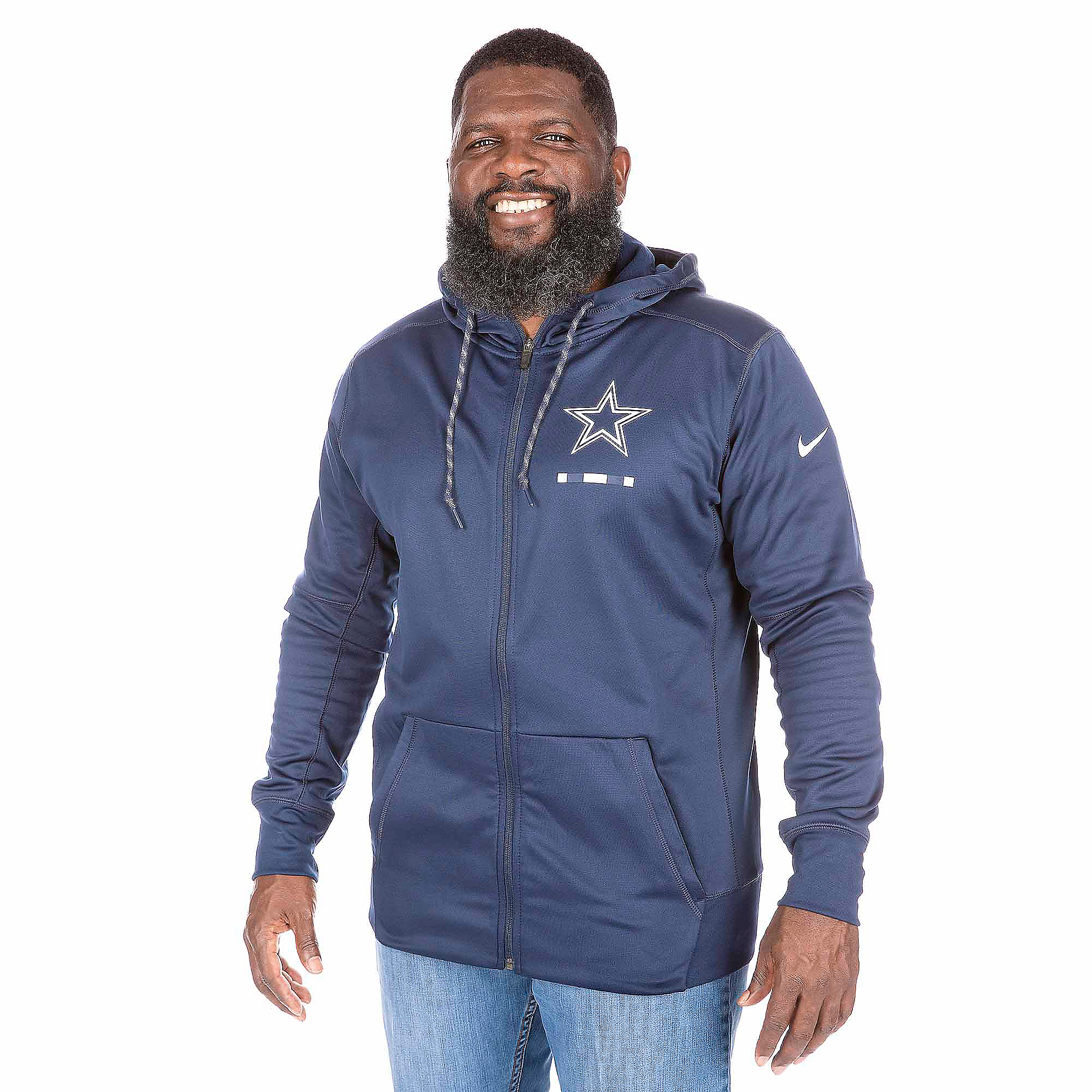 Dallas Cowboys Nike Therma-FIT Full-Zip Jacket