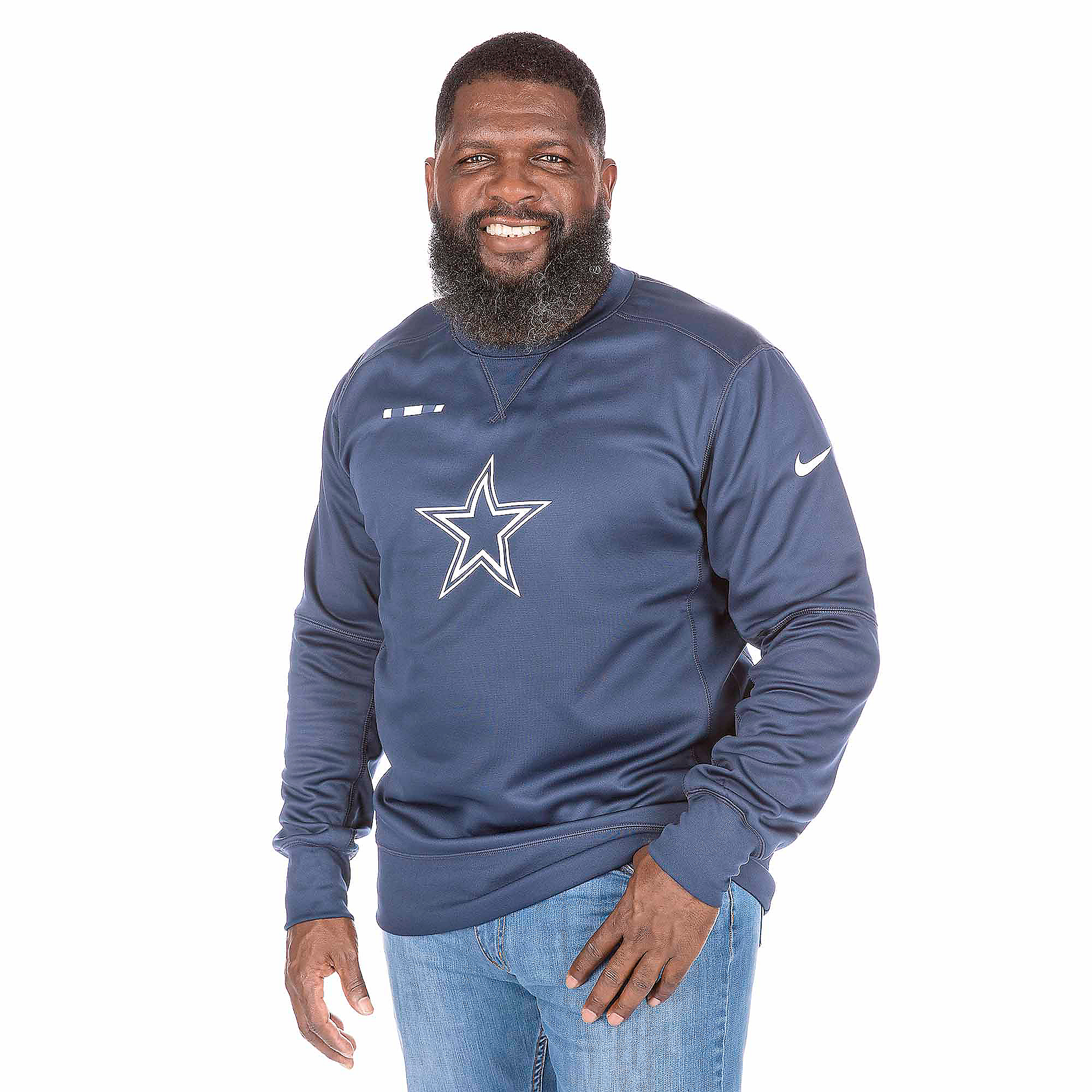 b94556ef727 Dallas Cowboys Nike Therma-FIT Crew | Dallas Cowboys Pro Shop