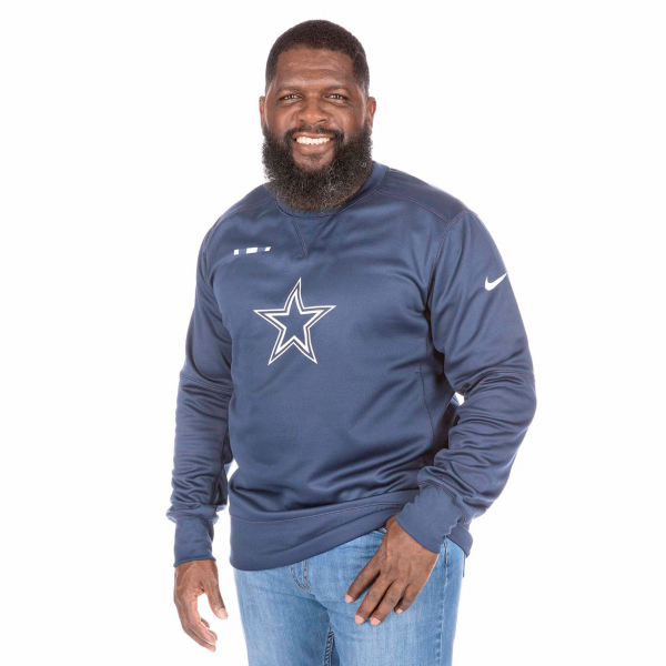 Dallas Cowboys Nike Therma-FIT Crew