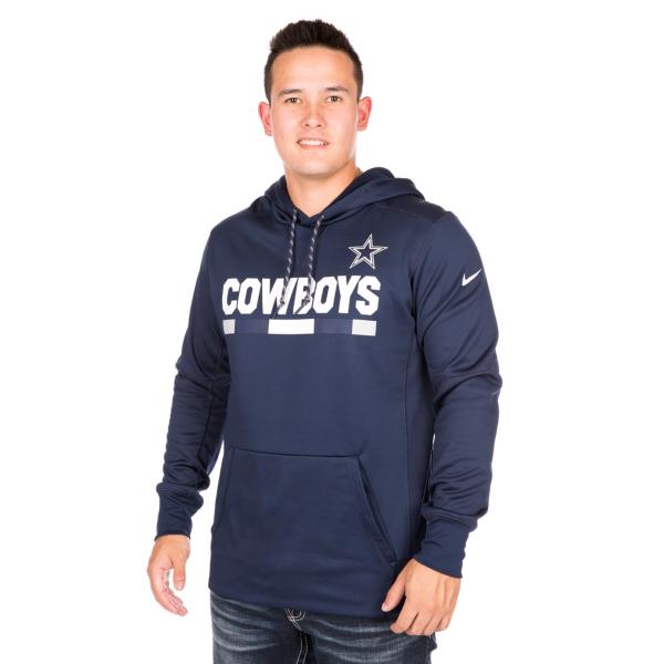 Dallas Cowboys Nike Therma Pullover Hoody