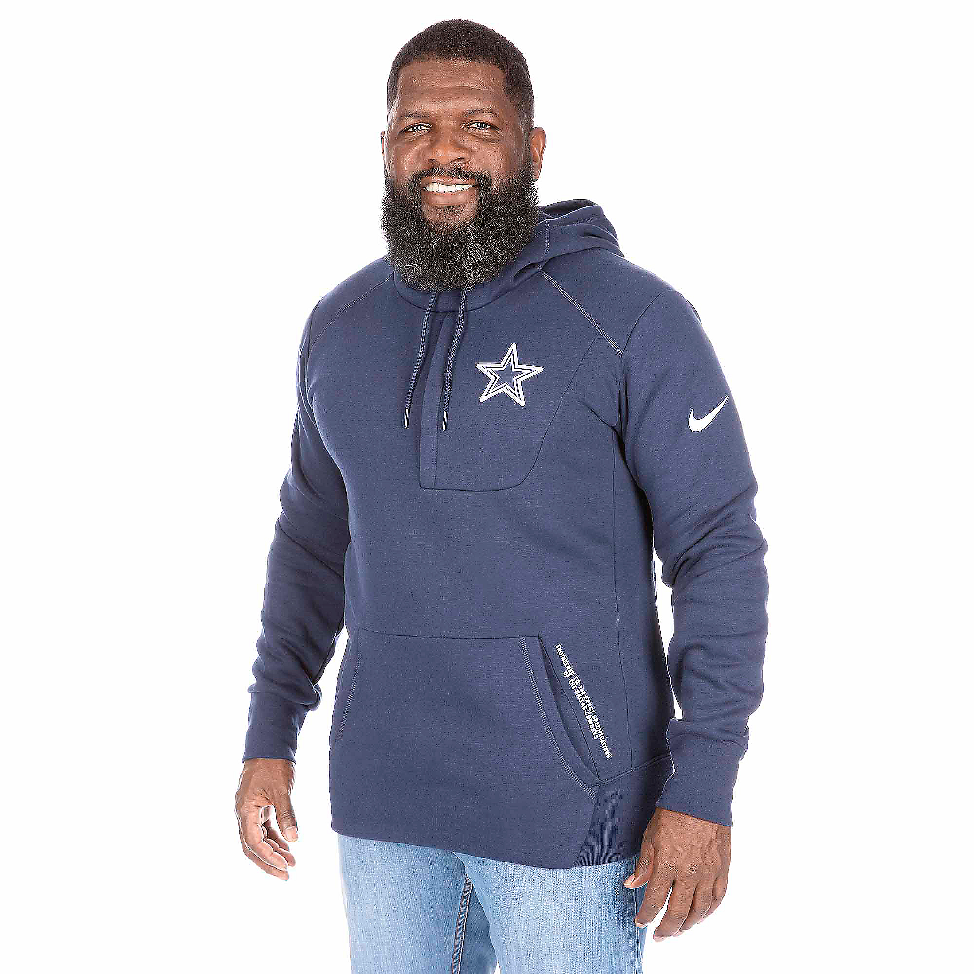 info for 6d458 1301d Dallas Cowboys Nike Fly Fleece Pullover Hoody | Dallas Cowboys Pro Shop