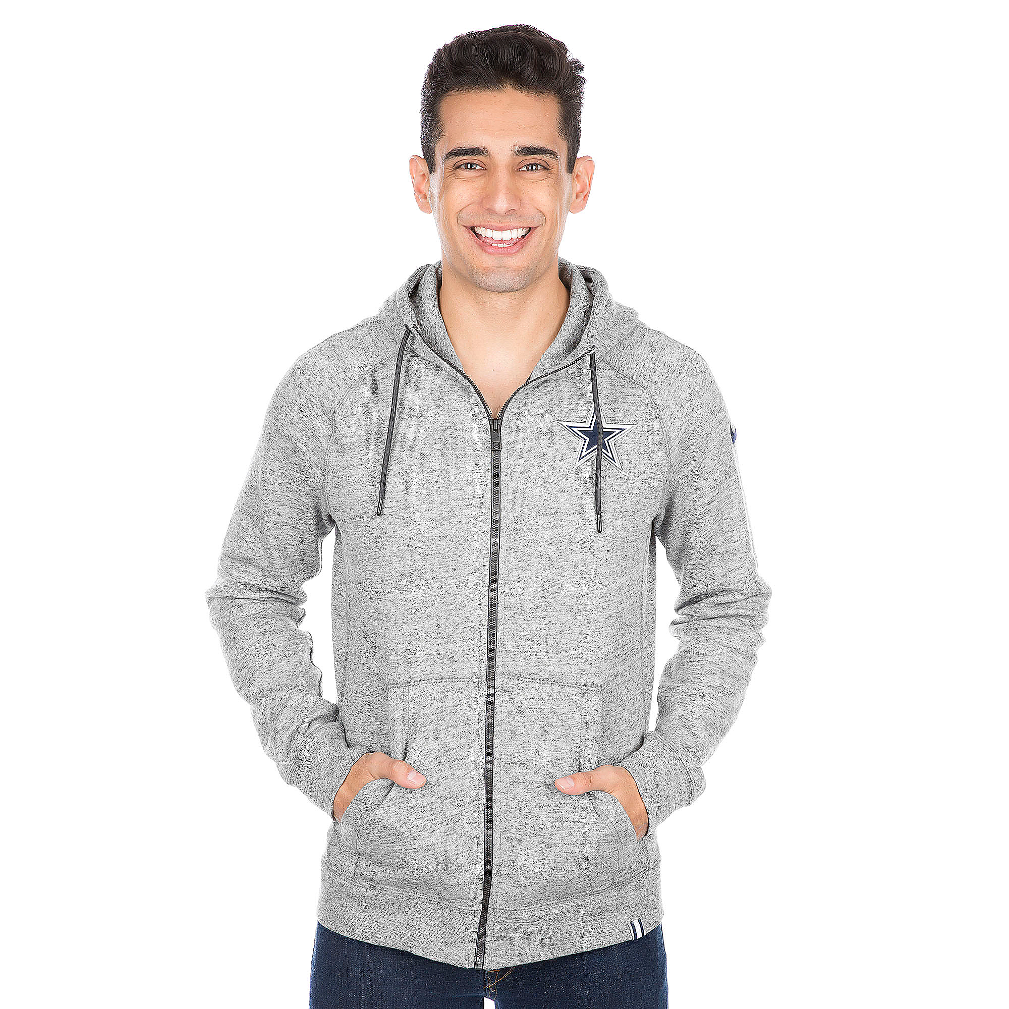 Dallas Cowboys Nike AW77 Full Zip Hoodie