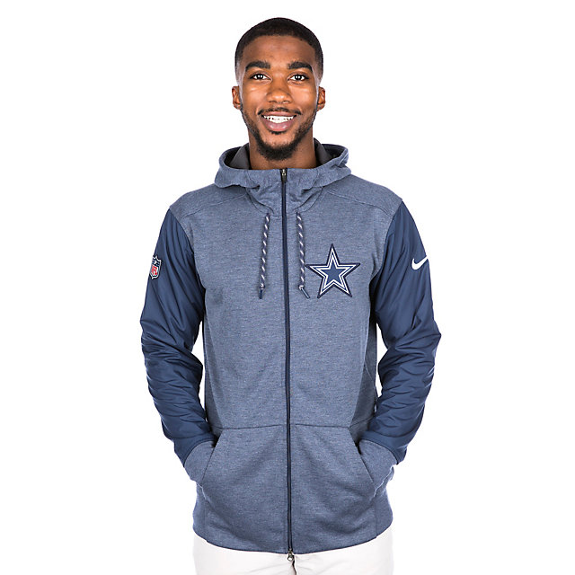 Dallas Cowboys Nike Travel Full-Zip Jacket