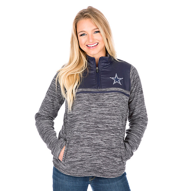 Dallas Cowboys Byron Quarter Zip Pullover