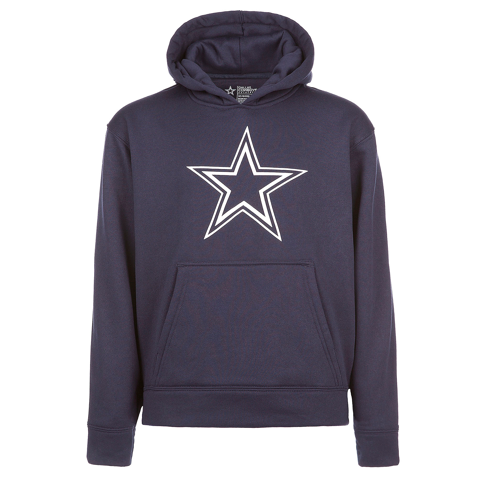 Dallas Cowboys Youth Logo Premier Performance Hoodie