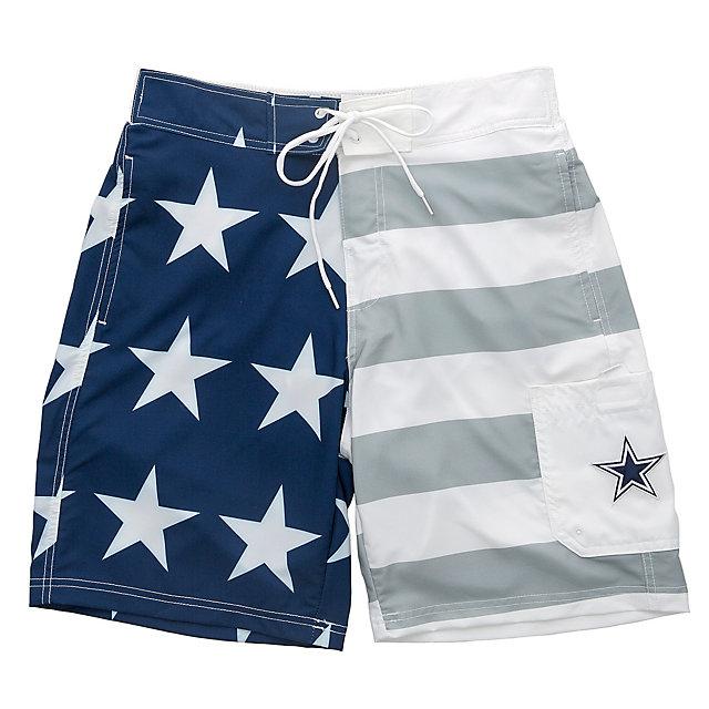 Dallas Cowboys Team Americana Swim Trunks