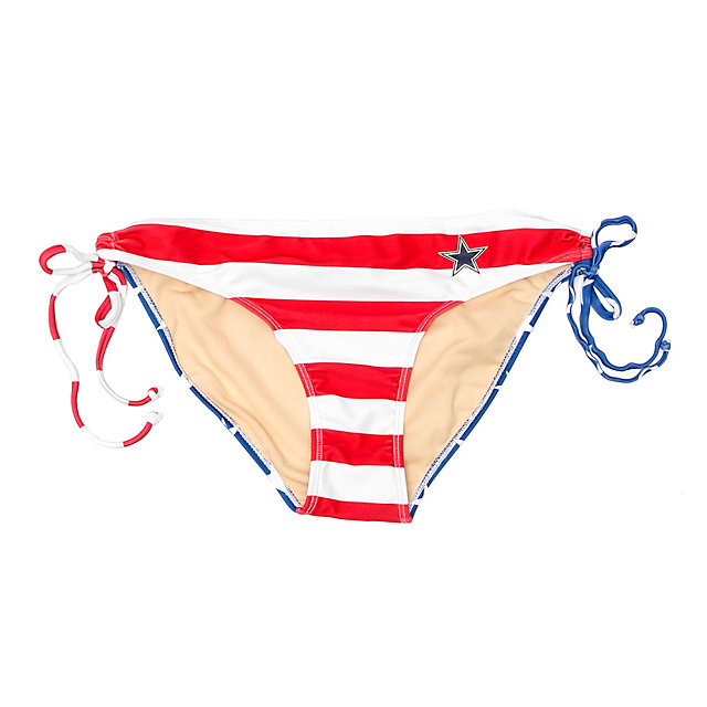Dallas Cowboys Patriotic Bikini Bottom
