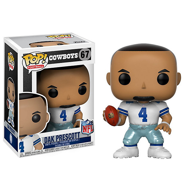 Dallas Cowboys Funko POP Wave 4 Dak Prescott Vinyl Figure