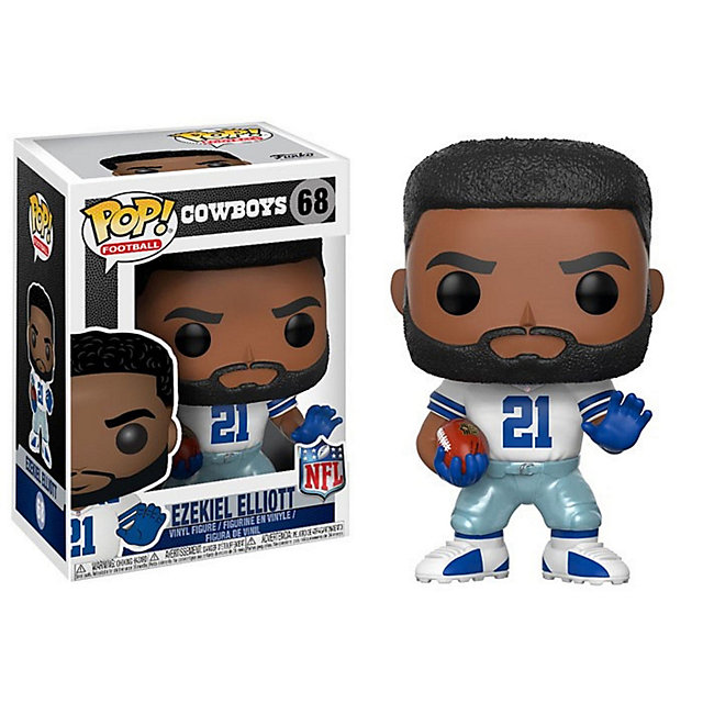 Dallas Cowboys Funko POP Wave 4 Ezekiel Elliott Vinyl Figure