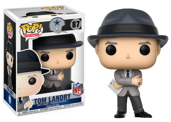 Dallas Cowboys Funko POP Wave 4 Tom Landry Vinyl Figure