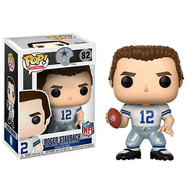 Dallas Cowboys Funko POP Wave 4 Roger Staubach Vinyl Figure