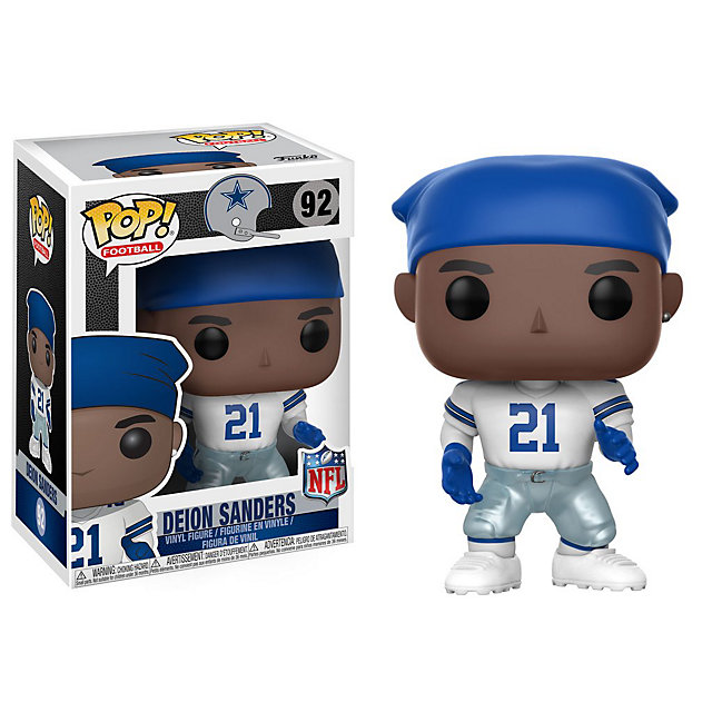 Dallas Cowboys Funko POP Wave 4 Deion Sanders Vinyl Figure
