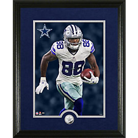 Dallas Cowboys Dez Bryant Canvas Print Frame