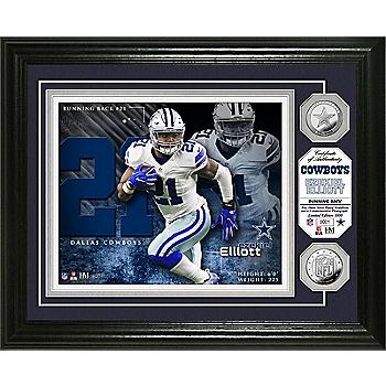 Dallas Cowboys Ezekiel Elliott Photo Mint Frame